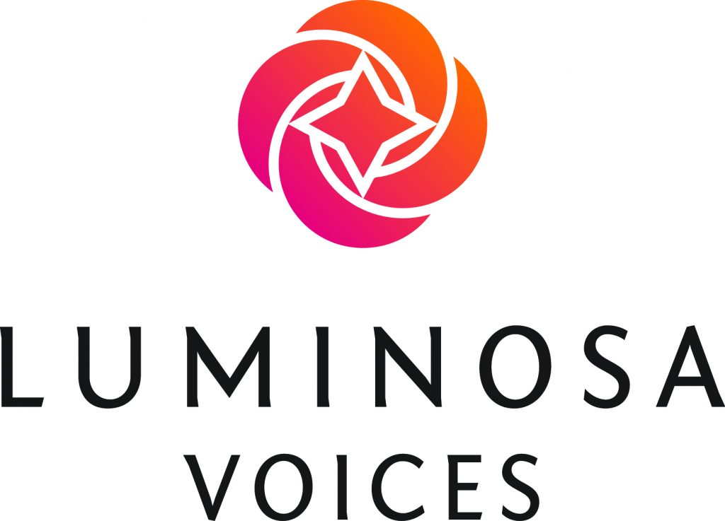 LUMINOSA VOICES LOGO CMYK