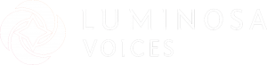 LUMINOSA VOICES LOGO HORIZONTAL RGB_Wht.fw