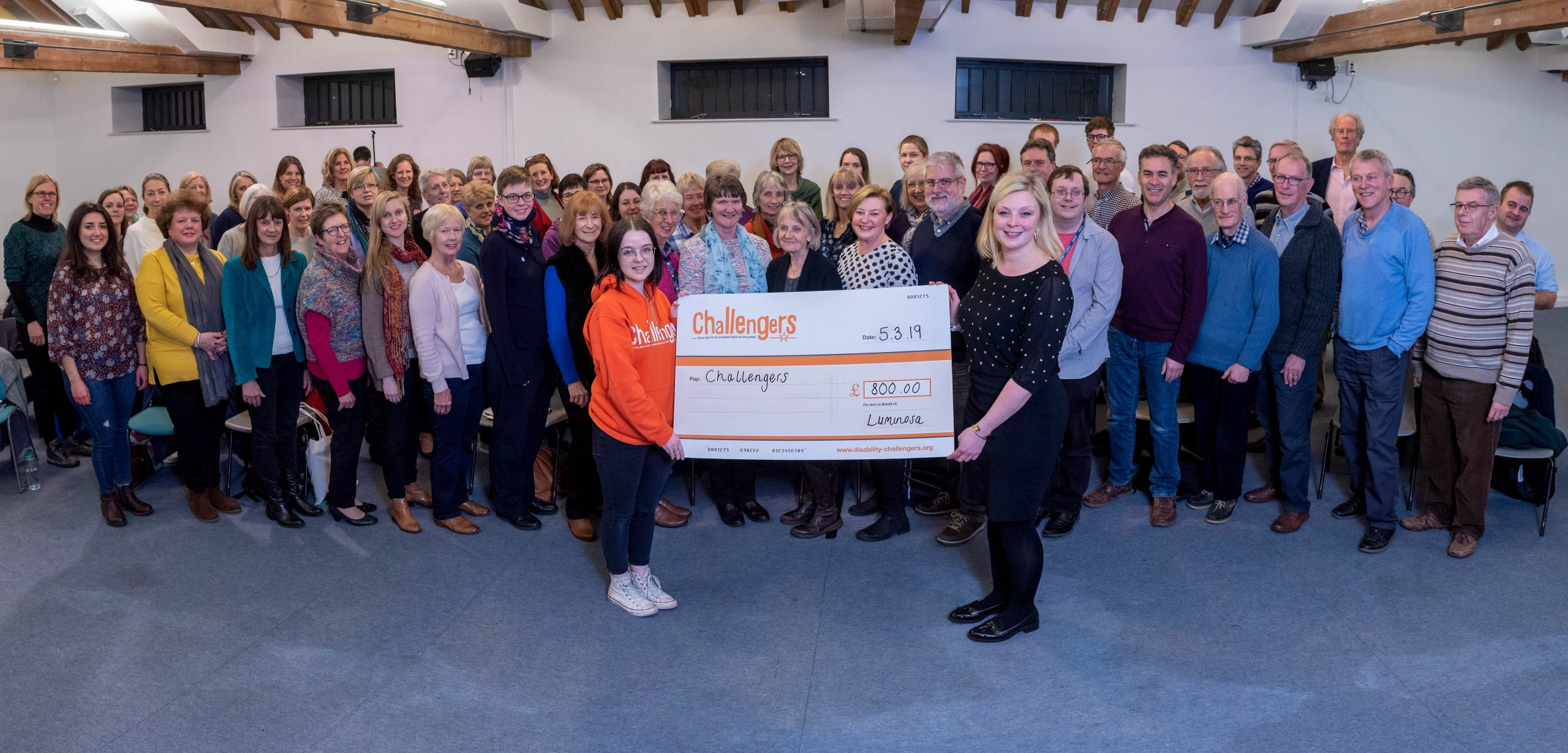 Luminosa Voices: Keen to get back to singing and donating to charity!