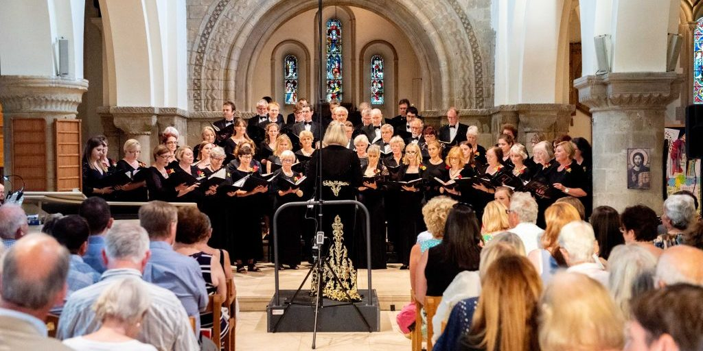 Luminosa Voices performing Opera Choruses, St. Peter's, Petersfield - 13th July '19 Photo Credit: Vernon Nash